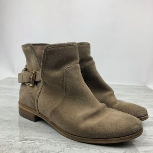 Micheal Micheal Kors Suede Ankle Boots